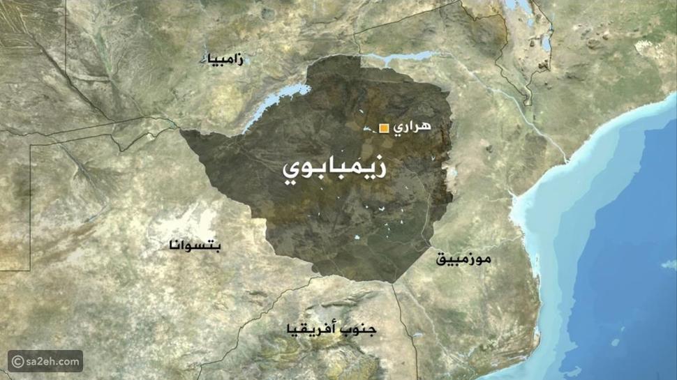 خريطة زيمبابوي