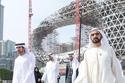 الشيخ محمد يتفقد المشروع