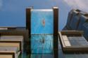 مسبح معلق على ارتفاع 80 قدما في الهواء