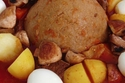 البازين من أشهر الأطباق الرئيسية في ليبيا