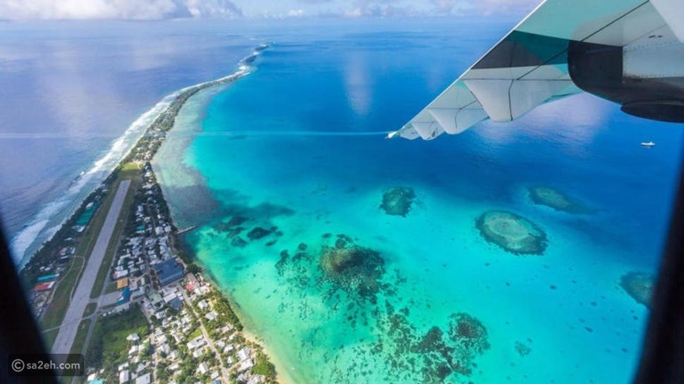 جزر يهددها تغير المناخ بالاختفاء