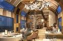 غرفة الطعام الفاخرة داخل قطار شيكي شيما الياباني