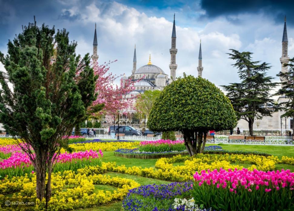 الربيع في اسطنبول