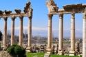الاثار الرومانية في مدينة بعلبك