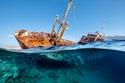 حطام السفينة الغارقةتيتانيك السعودية
