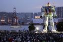 2- روبوت جاندام العملاق (Giant Gundam Robot)