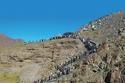 إحدى جبال الحجر في خورفكان