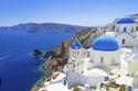 صورة لسانتوريني، اليونان