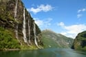 Geirangerfjord شلالات