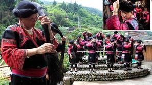 القرية الأطول شَعرًا بالعالم.. ويعيشون في الصين