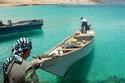 أحد صيادين في جزيرة سقطرى