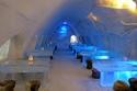 """مطعم """"لومي لينا"""" في قلعة الثلج في مرفأ كيمي الداخلي، فنلند"""
