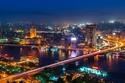 السياحة في القاهرة  نهر النيل ليلاً