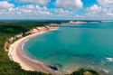 10- شاطئ بايا دوس جولفينهوس في برايا دا بيبا– البرازيل