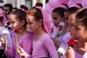 مشاركة أطفال دبي في شهر أكتوبر الوردي