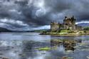 منظر خلال في اسكتلندا