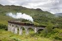 قطار في اسكتلندا
