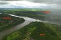البرازيل والأرجنتين والأوروغوي  على ضفاف نهر واحد