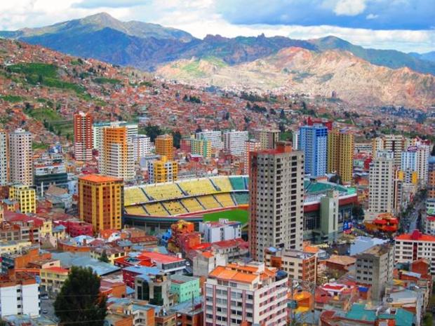 لاباز بوليفيا شاهد عن قرب أروع المناظر الطبيعية