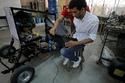 صور سيارة مصرية تتحدى ارتفاع الأسعار وتعمل على الهواء المضغوط 2