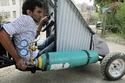 صور سيارة مصرية تتحدى ارتفاع الأسعار وتعمل على الهواء المضغوط 3