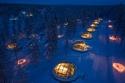 الفندق الزجاجي في فنلندا