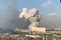 جانب من انفجار بيروت
