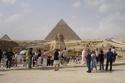 تمثال أبو الهول في منطقة أهرامات الجيزة- مصر