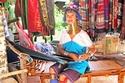 المرأة الزرافة في بورما