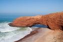 الطبيعة في المغرب  شاطئ ليجزيرا