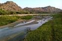 أكثر ما يميز وادي لومة جريان مياهه طوال العام