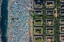 صور جوية تكشف الفجوة الصارخة بين الأغنياء والفقراء