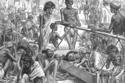 المجاعة الكبرى في الهند بين عامي 1769 – 1773 وراح ضحيتها 10 مليون شخص
