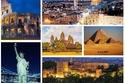 صور: أماكن تاريخية يقصدها ملايين السائحين كل عام