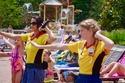 الرقص والألعاب والمهرجانات والمسابقات في مدينة ديزني