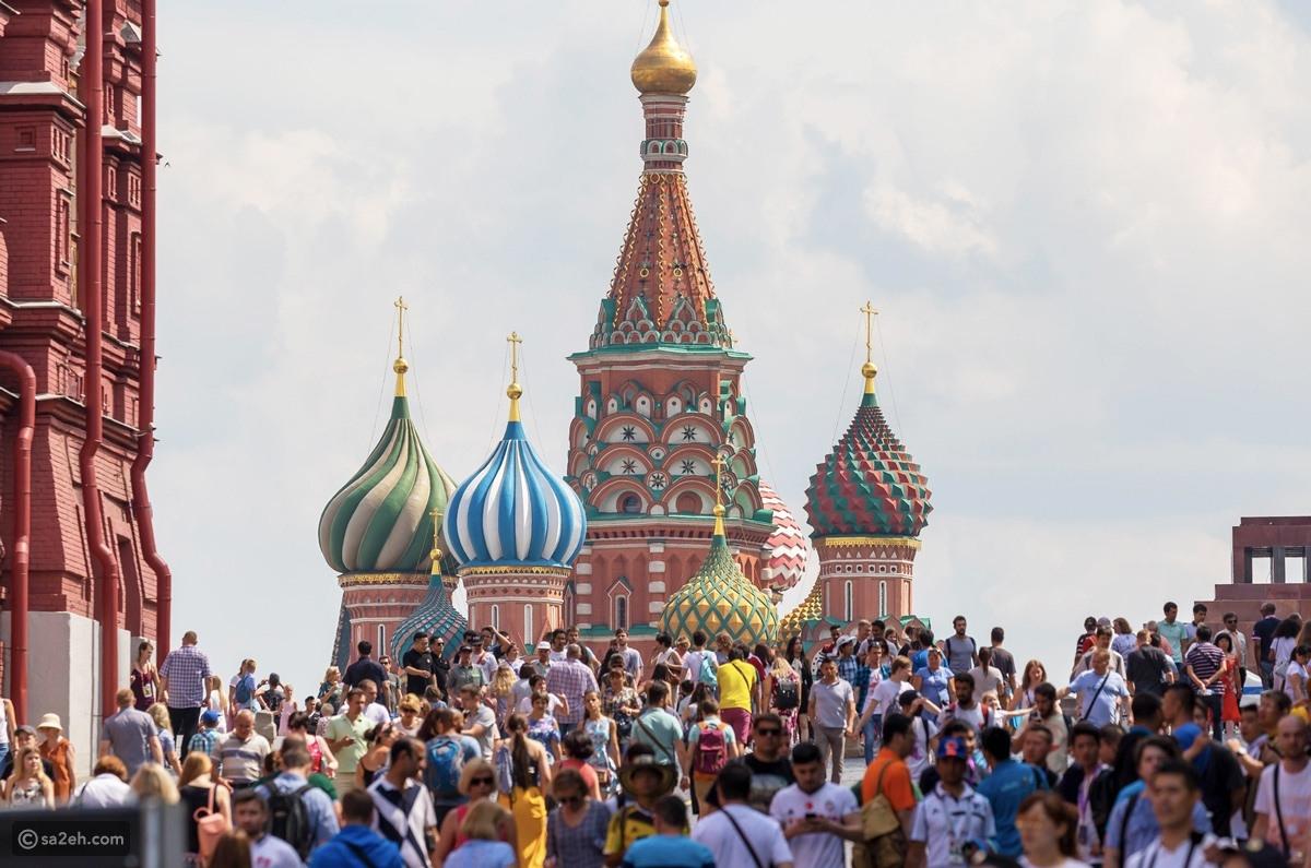 السياحة في روسيا سائح