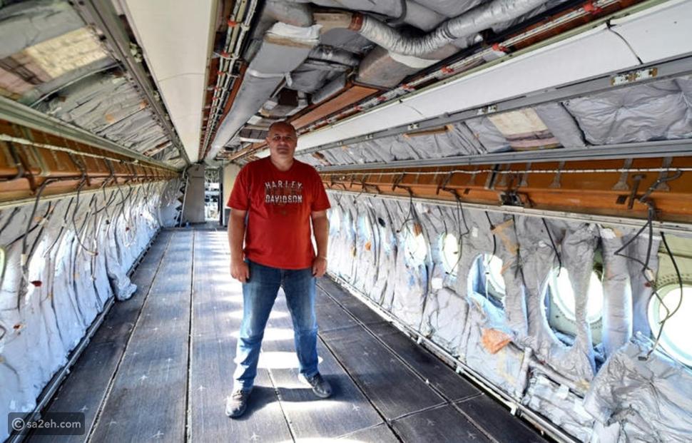 بعد انتهاء مهمتها في الطيران: هذه الطائرة تتحول إلى قاعة احتفالات