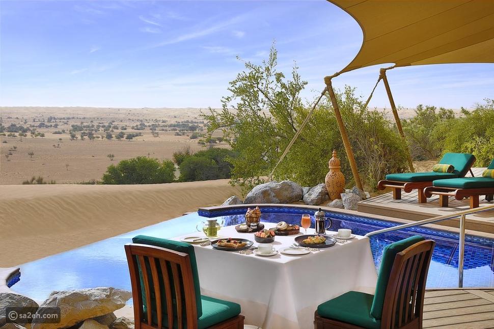 منتجعات صحراوية في الإمارات