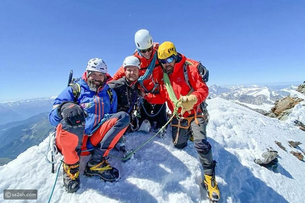 مصدر إلهام: مبتور الساقين يتسلق جبال الألب