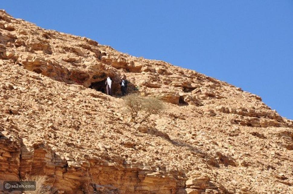 جبل التوباد في محافظة الأفلاج السعودية