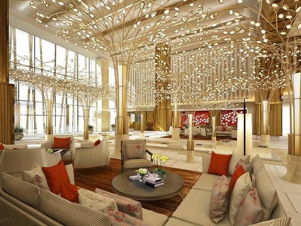 تم تصميم مكان الإقامة من قبل المصمم العالمي الشهير جيفري ويلكس
