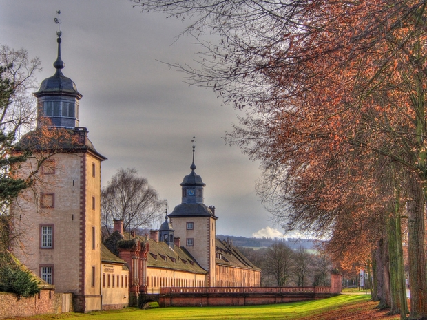 Höxter Corvey Castle