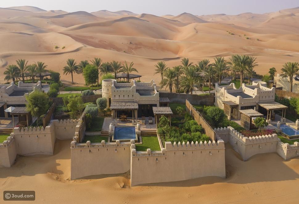 عودة القصر الأسطوري.. قصر السراب منتجع الصحراء بإدارة أنانتارا