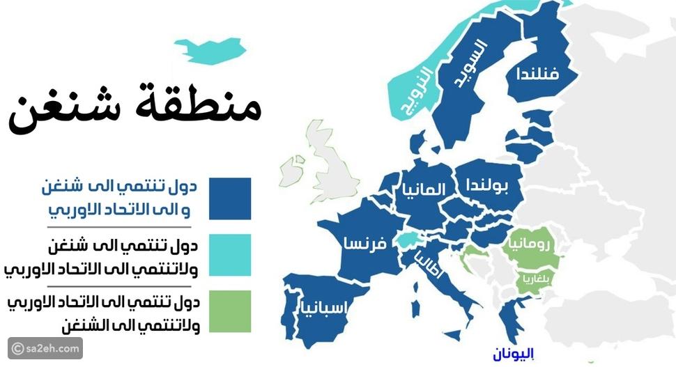 """لمواطني 60 دولة بينهم الإمارات: نظام جديد لدخول الـ"""" شنغن """""""