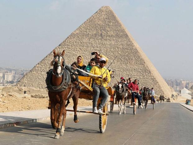 شاهد الحضارة المصرية القديمة والأهرمات والآثار
