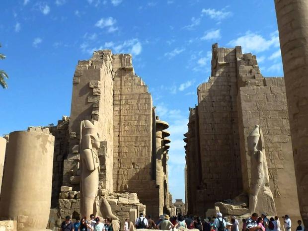 معبد الكرنك و وادى الملوك