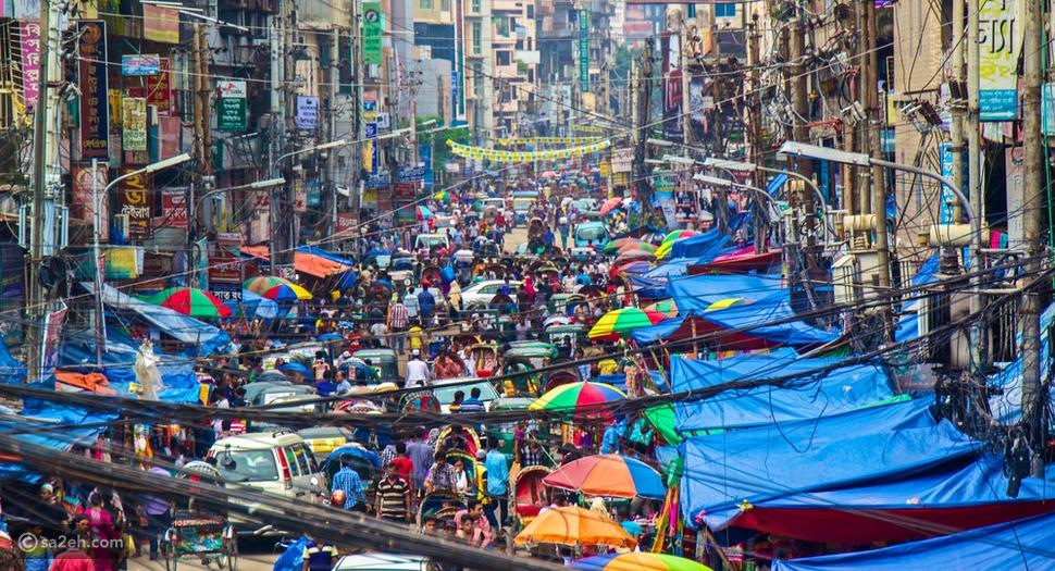أكثر 10 مدن ازدحاماً في العالم 🌍 بينها مدينة عربية لن تتوقعها