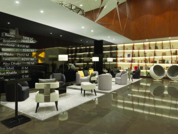 TRYP by Wyndham Dubai   Reception