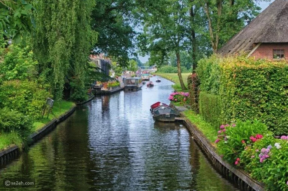 مدينة جيثورن في هولندا: