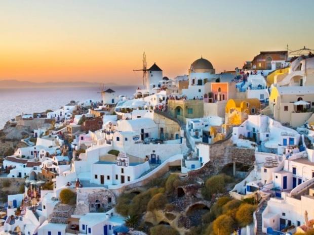 سانتوريني – اليونان